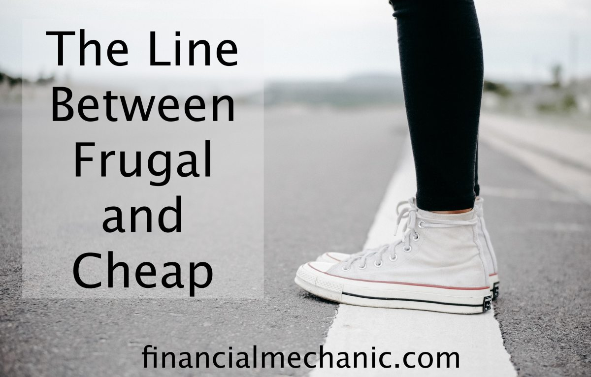 The Line Between Frugal and Cheap