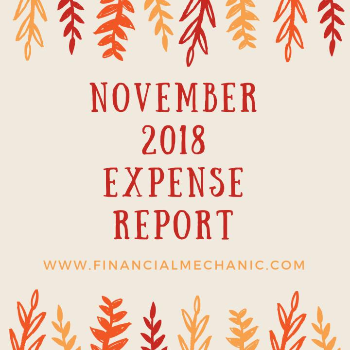 November 2018 ExpenseReport